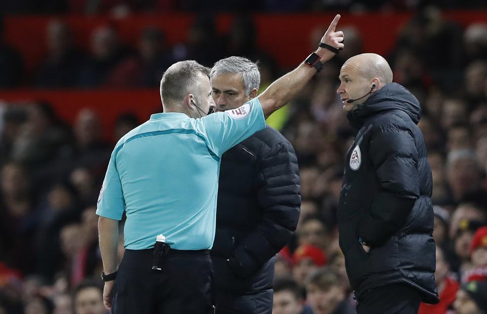 Mourinho: Hakemler de maç sonrası röportaj vermeli