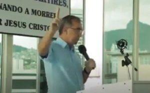 Brezilyalı rahipten tepki çeken 'Holokost tekrar olsun' duası