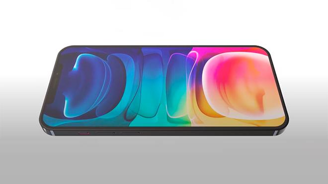 Ekrana entegre parmak izi sensörlü iPhone 13 Pro konsepti