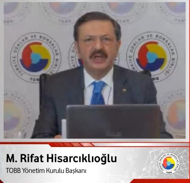 """TOBB Başkanı Hisarcıklıoğlu: """"Bu çağda zenginleşmenin, kalkınmanın anahtarı girişimciliktir"""""""