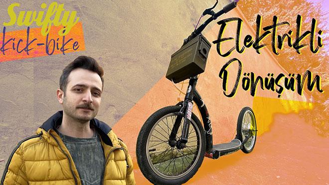 Türkiye'de elektrikli hale getirilen Swifty scooter ile tanışın